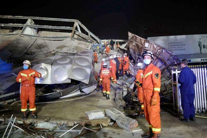 70 people under rubble after Chinese 'quarantine hotel' collapses