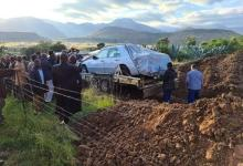 Last wish granted: South African buried with his Mercedes