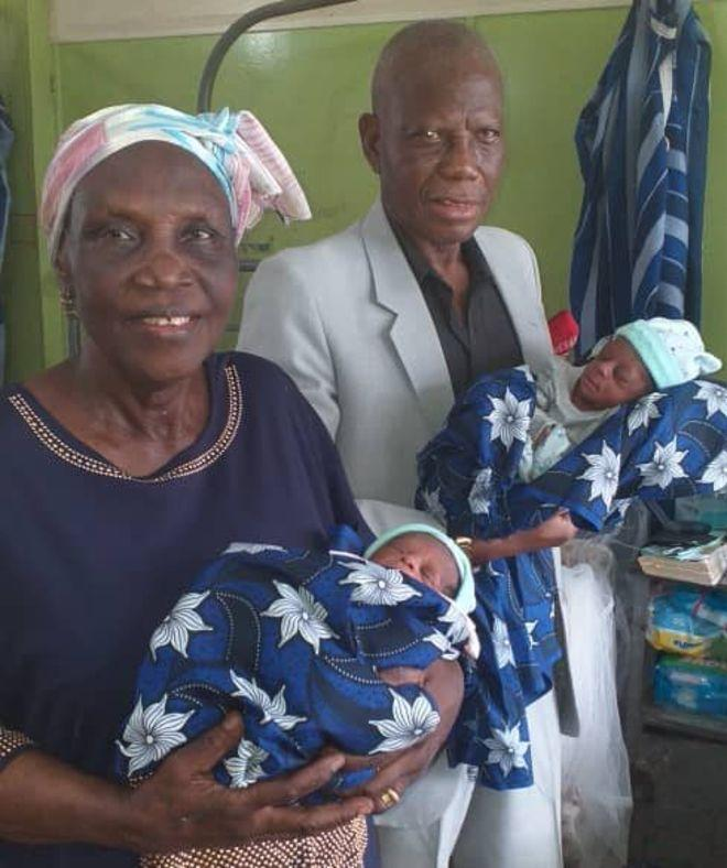 This is why 68-year-old Nigerian woman gives birth to twins