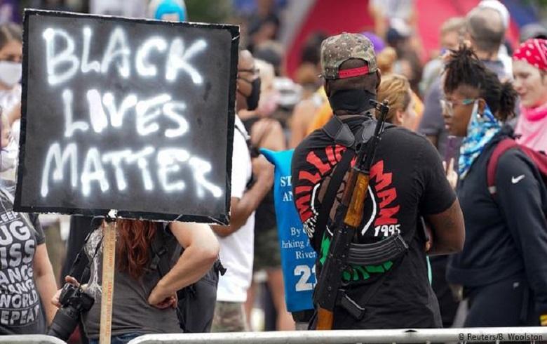 Man shot dead at Black Lives Matter in Kentucky