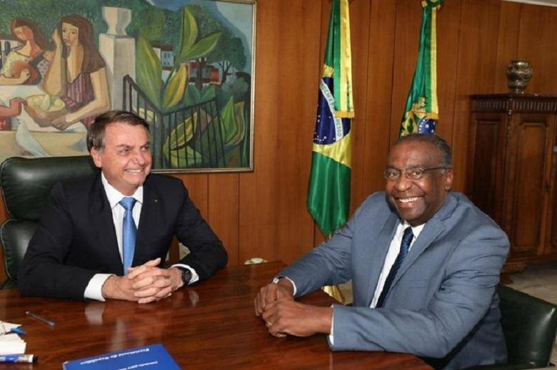 First time Brazilian president accepts black minister into government