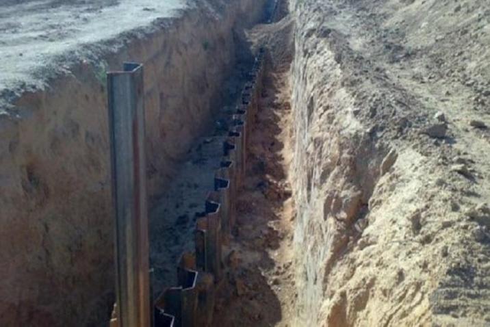 The border wall of Egypt – Gaza