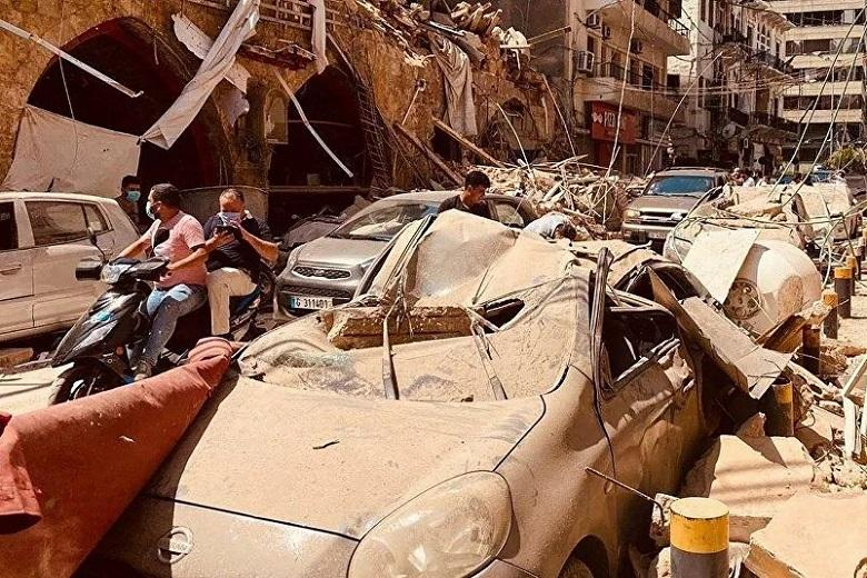 Where does nitrate that caused explosions in Beirut come from?