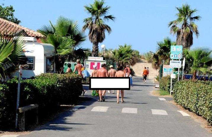 Cap d'Agde is one of the 'naked hotspots' in France