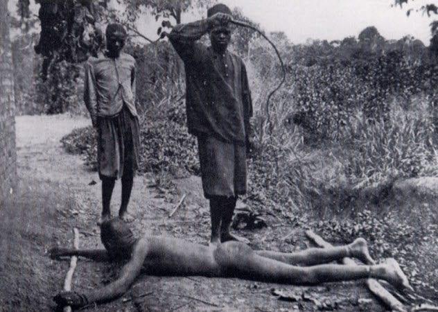 Workers were beaten brutally