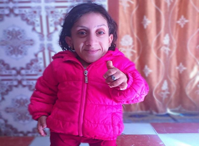 Moroccan woman wants to claim world smallest woman record holder