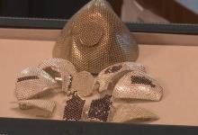 "Jeweler working on ""most expensive mouth mask in the world': white gold and 3,600 diamonds"