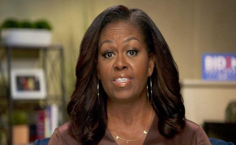 """Trump hits back hard after Michelle Obama's speech: """"She was over her head"""""""