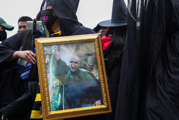 "Thai students compare king to ""Lord Voldemort"" during protest"