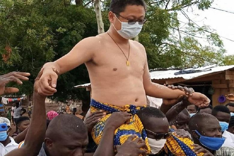 What to know about Chinese man crown chief in Ghana