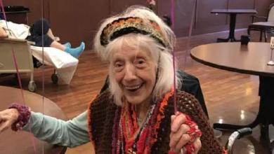 Angelina (102) experienced Spanish flu as a baby, survived cancer and Covid-19, even twice