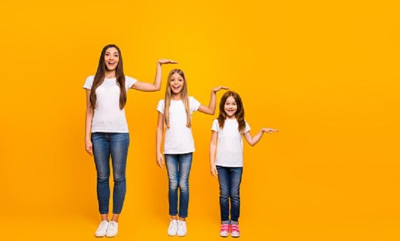Why the height of adolescents vary according to their nationality?