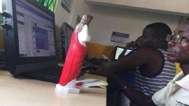 He came to a soccer bet with a statuette of Jesus to win big