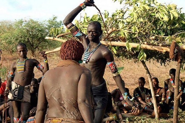 A woman from Hamar with scar