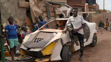 Kelvin is a young Ghanaian with a passion for cars. His love for building miniature cars, planes, and helicopters goes back to his early childhood