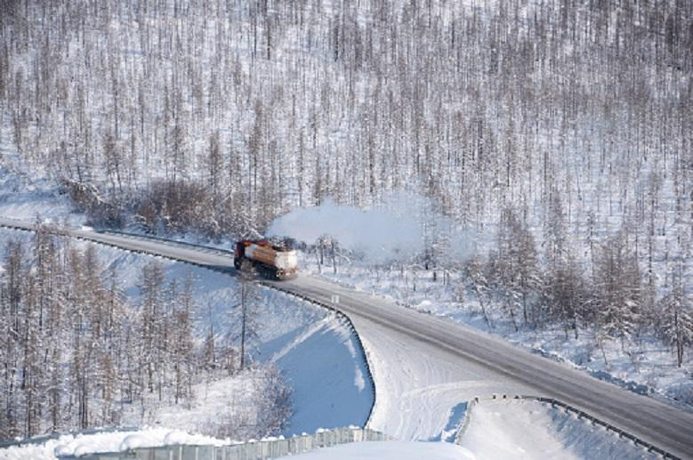 Oymyakon, the coldest village in the world: mercury drops to -77°