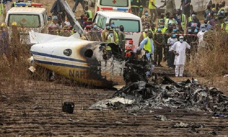 Nigerian Air Force plane crashed on the approach to Abuja Airport