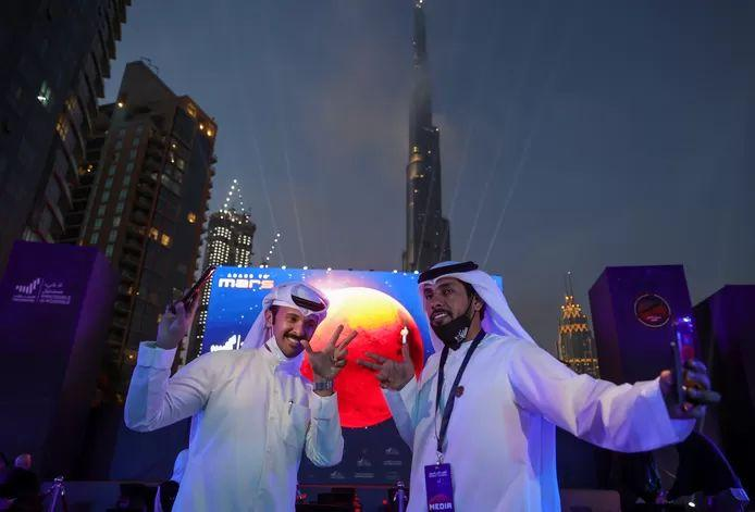Party in the Emirates: First Arabian probe in orbit around Mars