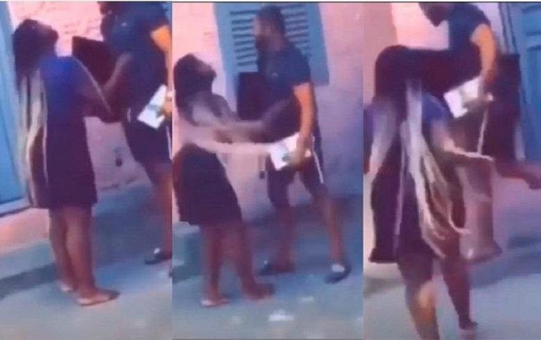 After break up, man forcefully take what he bought for her