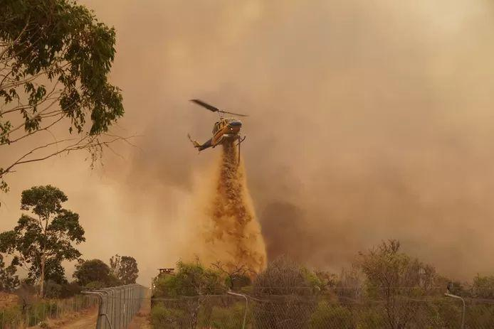 Australian forest fire rages on, more than 70 homes destroyed near Perth