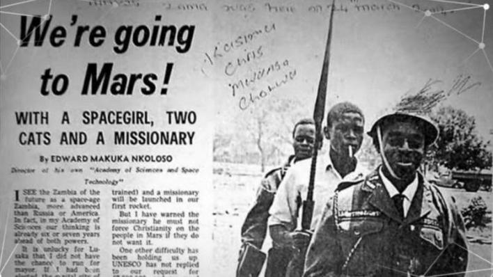 Zambian colonization of Mars with Edward Mukuka Nkoloso