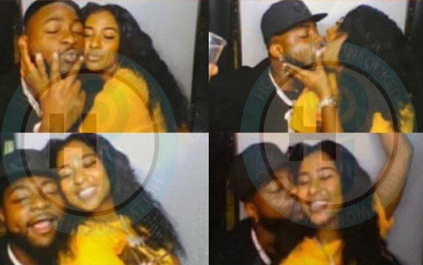 Photos of Davido kissing Mya Yafai leaked and Nigerians react