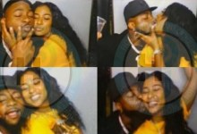 Photos of Davido kissing Mya Yafai leaked and Nigerians react