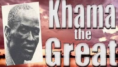 Khama, the good king of Bechuanaland
