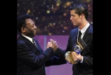 This happens after Cristiano Ronaldo breaks Pelé's goal record