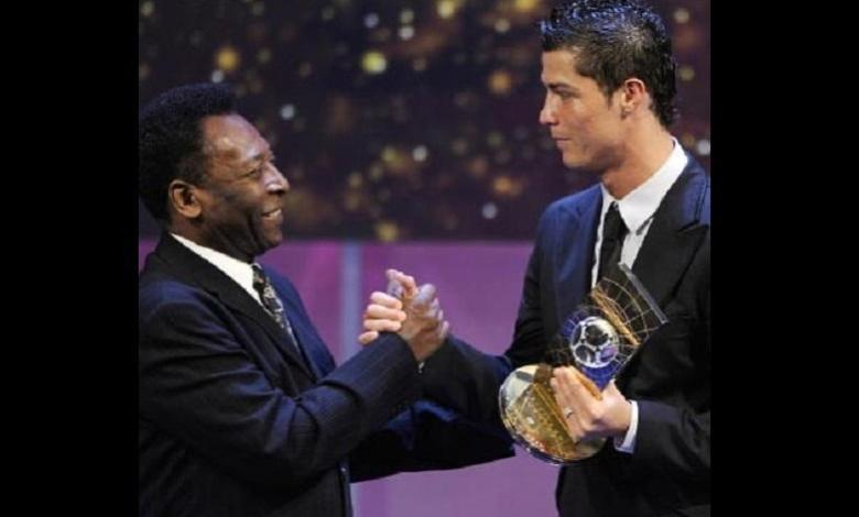 This happens after Cristiano Ronaldo breaks Pelé's goal record