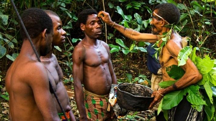 Pygmies of Bayaka, Central African Republic