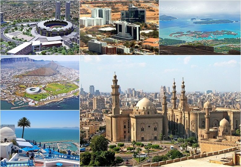 Top 10 most developed countries in Africa this year