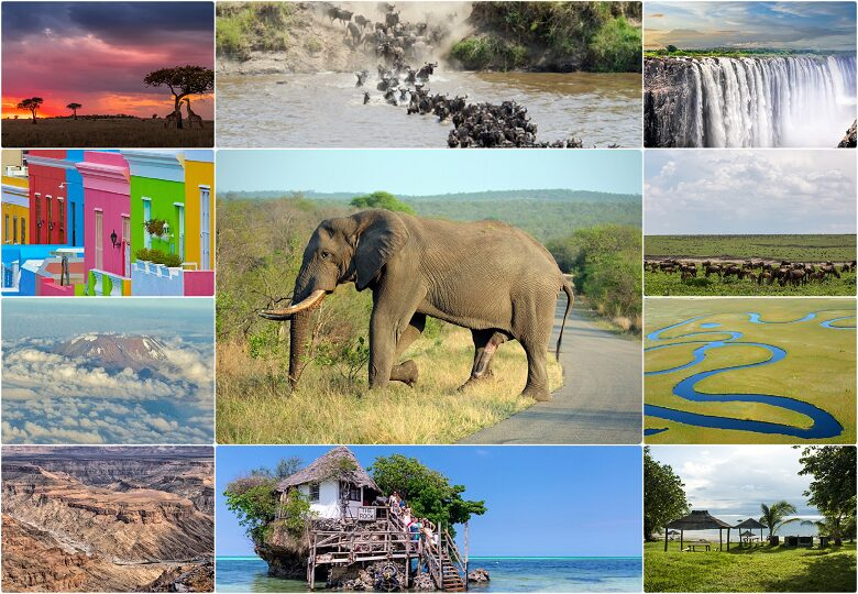The most exciting places in Africa