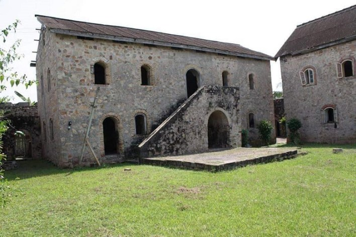 Fort Gross Friedrichsburg 1683 Princes Town ( Pokesu). This Fort was built to be the headquarters of the Brandenburgers in Africa.
