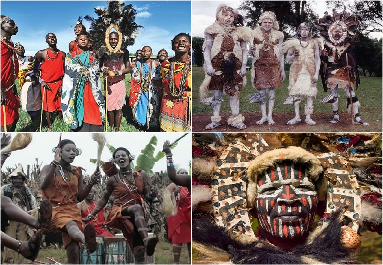 Kikuyu is a contented tribe of Africa. These people are not as popular as the Maasai because of their peaceful lifestyle. They are quiet.