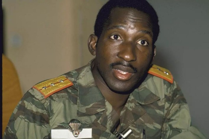 Captain Thomas Isidore Noël Sankara