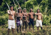 Waorani is a tribe of Indians living in the Amazon jungle in eastern Ecuador. For centuries they have not come into contact with the outside world