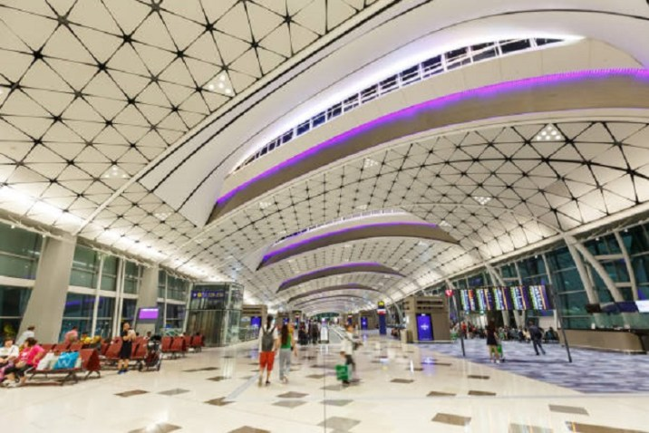 The top 5 beautiful  airports in the world