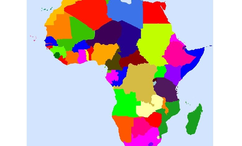 Top 10 smallest countries in Africa by area