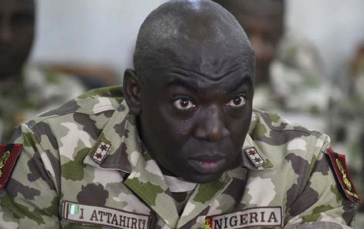 chief Lt. Gen. Ibrahim Attahiru