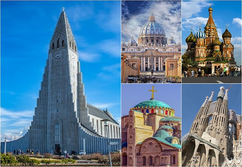 5 beautiful churches in the world