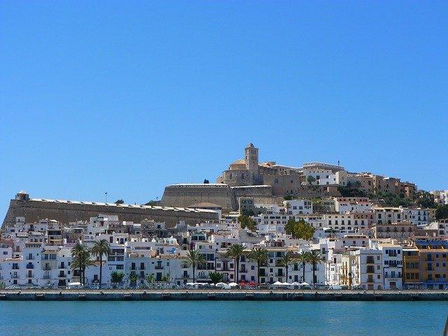 The color of Ibiza is white