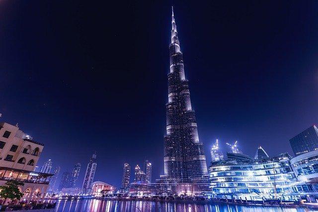 Burj Khalifa skyscraper, UAE
