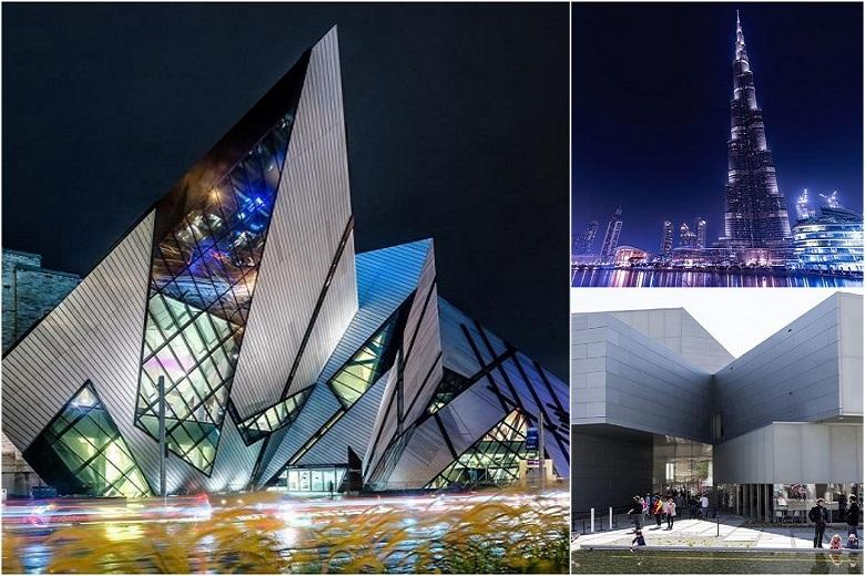 What are the 7 architectural wonders of the news world?
