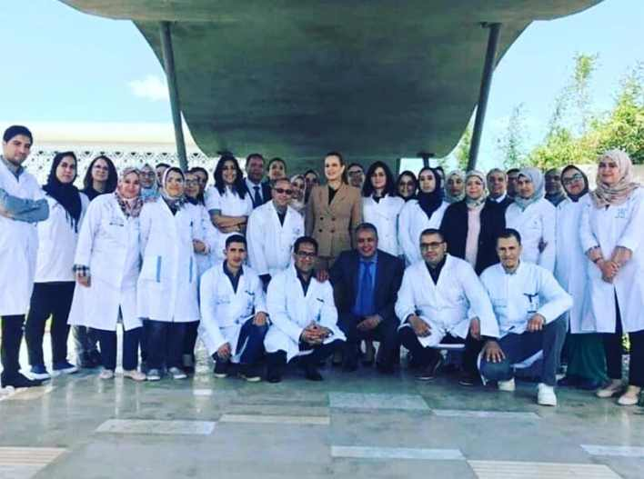 Moroccan Princess Lalla Salma was seen in 2019 in public for the second time in a week and a half. She paid an (unofficial) visit to a hospital in Beni Mellal, where she was satisfied with the staff.