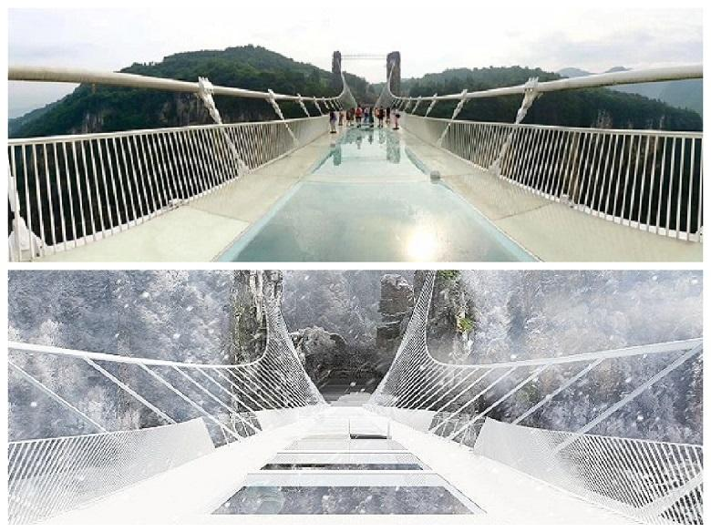 Why China's famous glass bridges are closed: history of transparent architecture