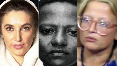 Female politicians whose careers ended in murder