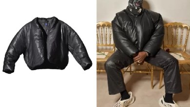 Kanye West releases a new coat with clothing chain Gap