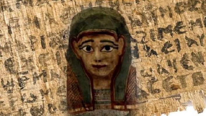 Gospel in the mask of mummies