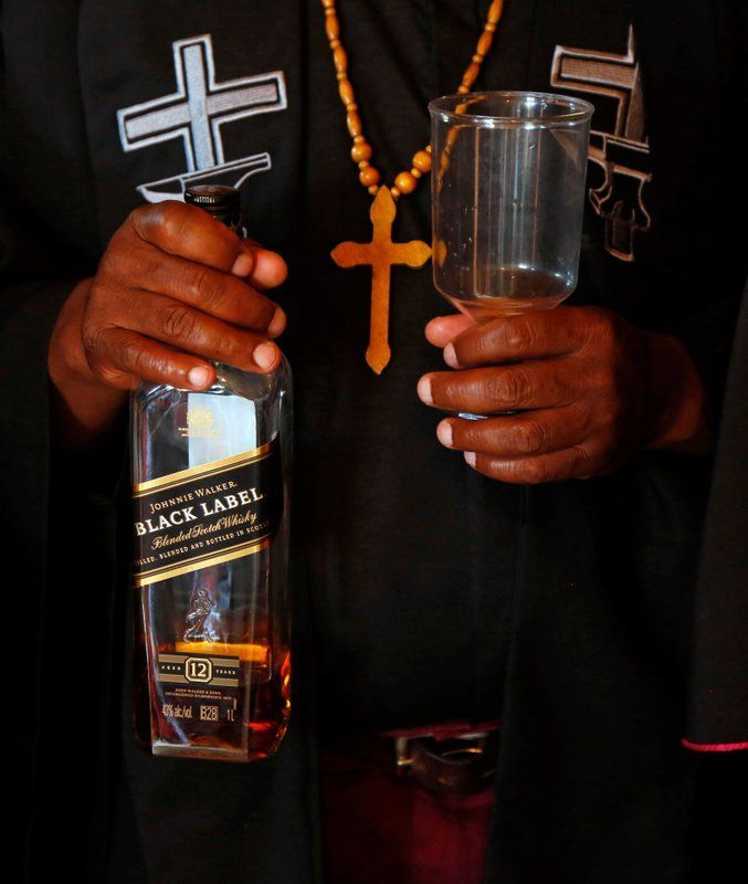 """Gabola church in South Africa: """"we drink for Holy Spirit to enter us"""""""